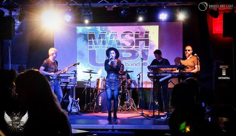 MashUp Band trupa de cover, formatie evenimente